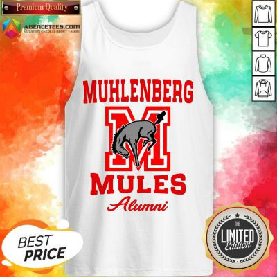 Muhlenberg Mules Alumni Logo Tank Top