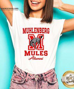 Muhlenberg Mules Alumni Logo V-neck