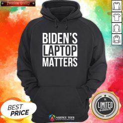 Nice Biden's Laptop Matters Classic Hoodie Design By Agencet.com