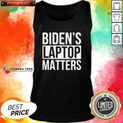 Nice Biden's Laptop Matters Classic Tank Top Design By Agencet.com
