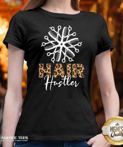 Nice Hair Hustler Leopard Vintage V-neck Design By Agencet.com