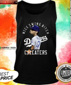 Nice Joe Kelly Nice Swing Bitch Dodgers Cheaters Tank Top Design By Agencet.com