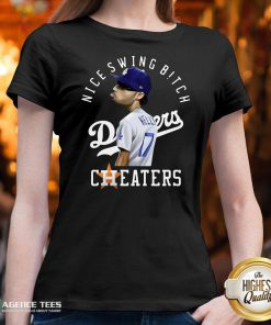 Nice Joe Kelly Nice Swing Bitch Dodgers Cheaters V-neck Design By Agencet.com