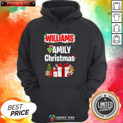Nice Williams Family Gift Merry Christmas 2020 Hoodie Design By Agencet.com