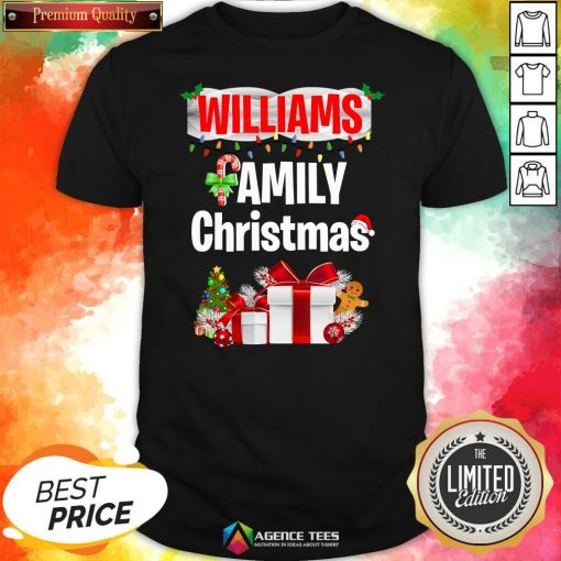 Nice Williams Family Gift Merry Christmas 2020 Shirt Design By Agencet.com