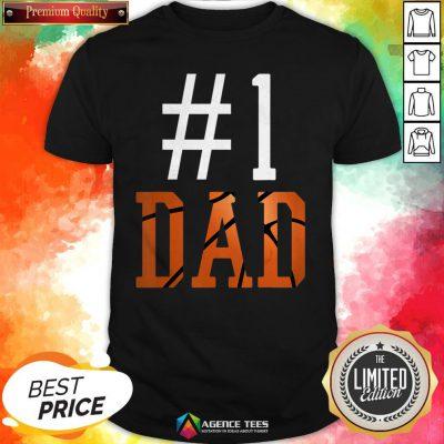 Official Basketball #1 Dad Shirt