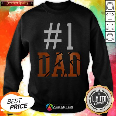 Official Basketball #1 Dad Sweatshirt