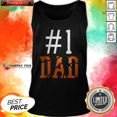 Official Basketball #1 Dad Tank Top