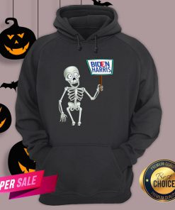 Official Funny Skeleton Voting 2020 Monsters Vote For Joe Biden's Hoodie