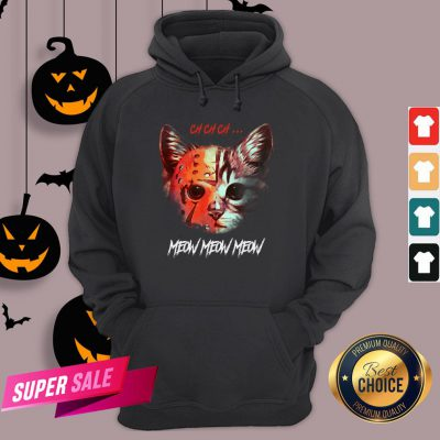 Official Jason Voorhees Cat Ch Ch Ch Meow Meow Meow Hoodie