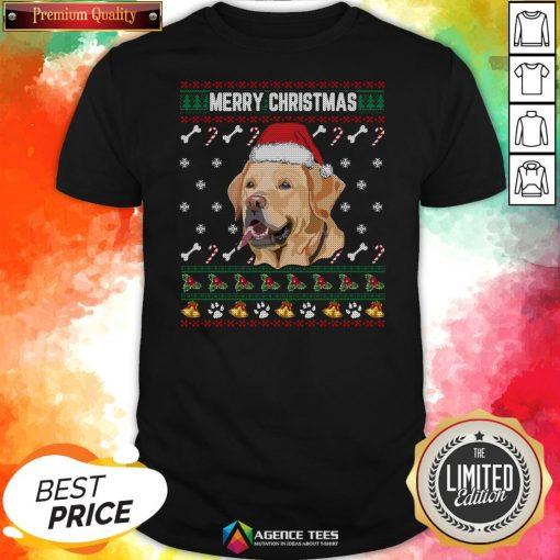 Official Labrador Merry Xmas Ugly Christmas Shirt