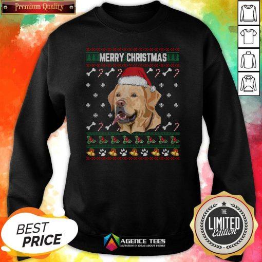 Official Labrador Merry Xmas Ugly Christmas Sweatshirt