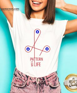 Official Pattern Of My Life V-neck