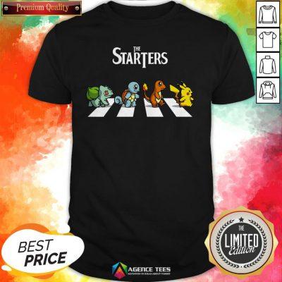 Pokemon Abbey Road The Starter Shirt