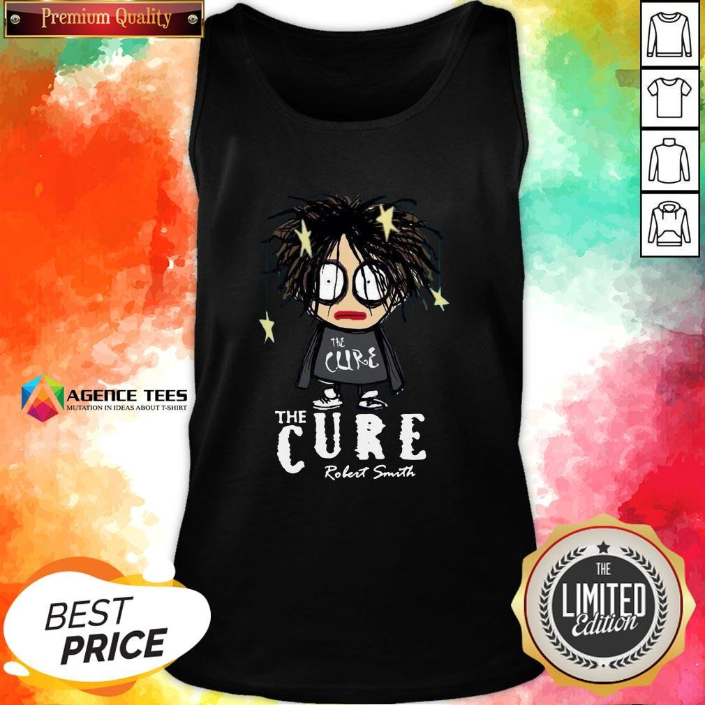 Premium The Cure Robert Smith Tank Top Design By Agencet.com