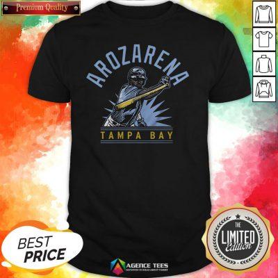 Randy Arozarena Tampa Bay Baseball ShirtRandy Arozarena Tampa Bay Baseball Shirt