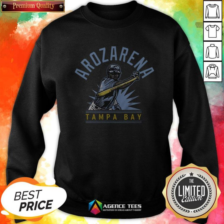 Randy Arozarena Tampa Bay Baseball ShirtRandy Arozarena Tampa Bay Baseball Sweatshirt