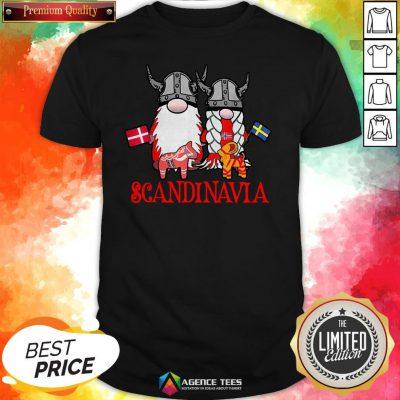Scandinavian Skandinavisches Nordischer Gnome Viking Shirt