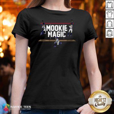 Top Los Angeles Mookie Magic V-neck Design By Agencet.com