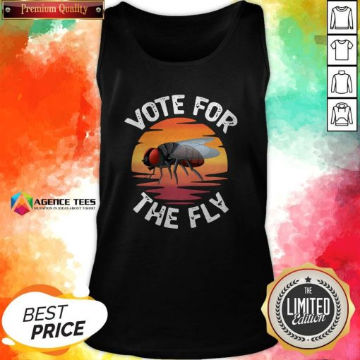 Vote For The Fly Trump 2020 Tank Top