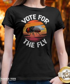 Vote For The Fly Trump 2020 V-neckVote For The Fly Trump 2020 V-neck