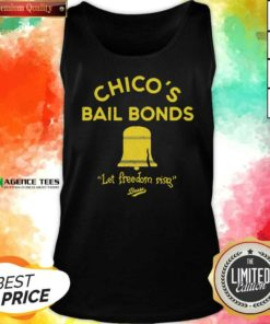 Awesome Chicos Bail Bonds Let Freedom Ring Bears Tank Top - Design By Agencetees.com