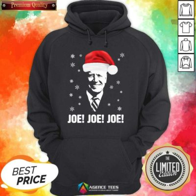 Awesome Joe Biden Santa Claus Father Christmas 2020 Jolly Hoodie - Design By Agencetees.com