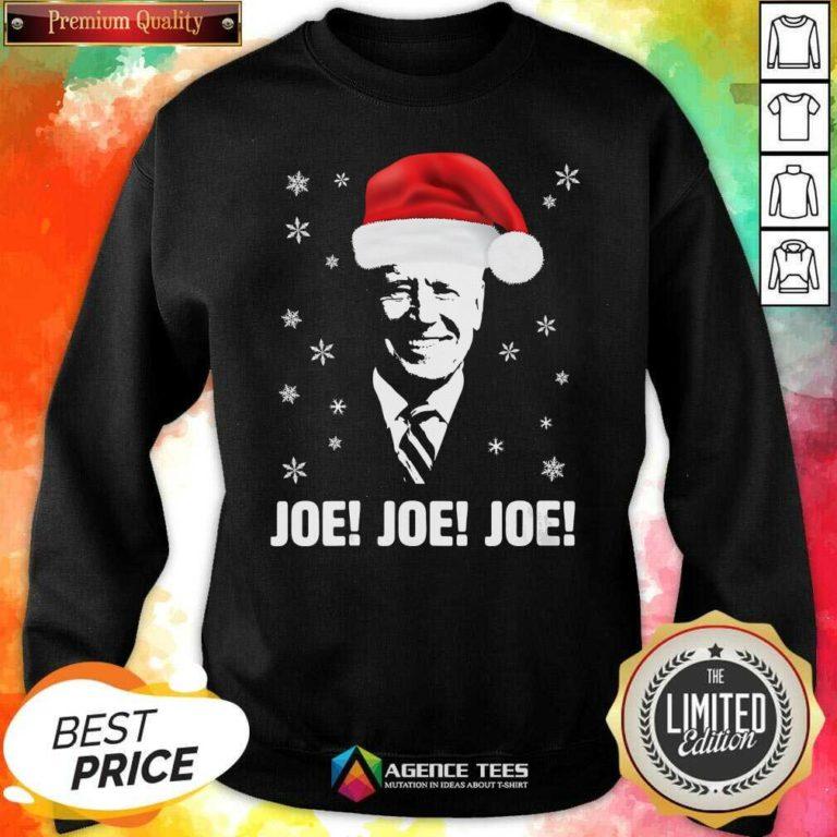 Awesome Joe Biden Santa Claus Father Christmas 2020 Jolly Sweatshirt - Design By Agencetees.com