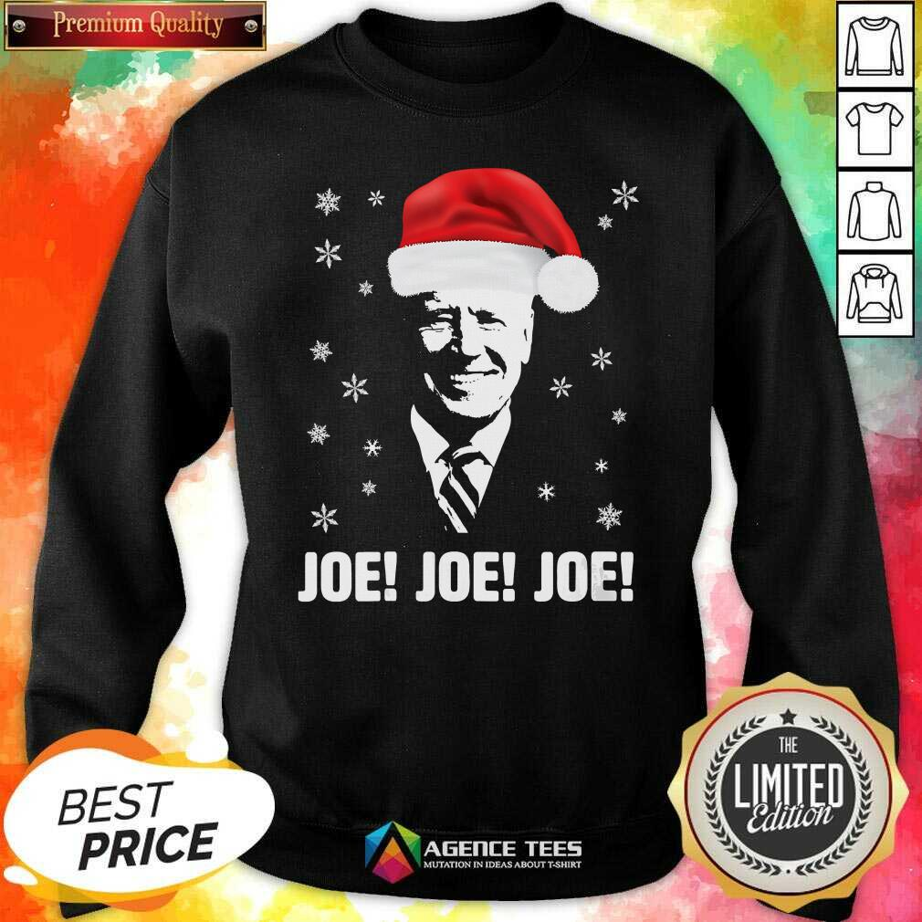 Awesome Joe Biden Santa Claus Father Christmas 2020 Jolly Sweatshirt - Design By Agencetees.com