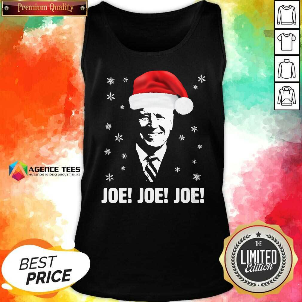Awesome Joe Biden Santa Claus Father Christmas 2020 Jolly Tank Top - Design By Agencetees.com