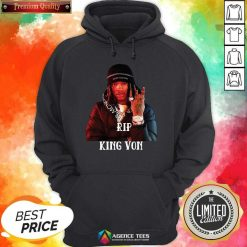 Awesome King Von R.I.P 1994-2020 Hoodie - Design By Agencetees.com
