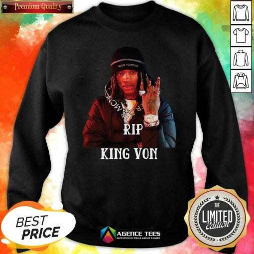 Awesome King Von R.I.P 1994-2020 Sweatshirt - Design By Agencetees.com