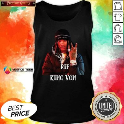 Awesome King Von R.I.P 1994-2020 Tank Top - Design By Agencetees.com