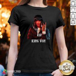 Awesome King Von R.I.P 1994-2020 V-neck - Design By Agencetees.com