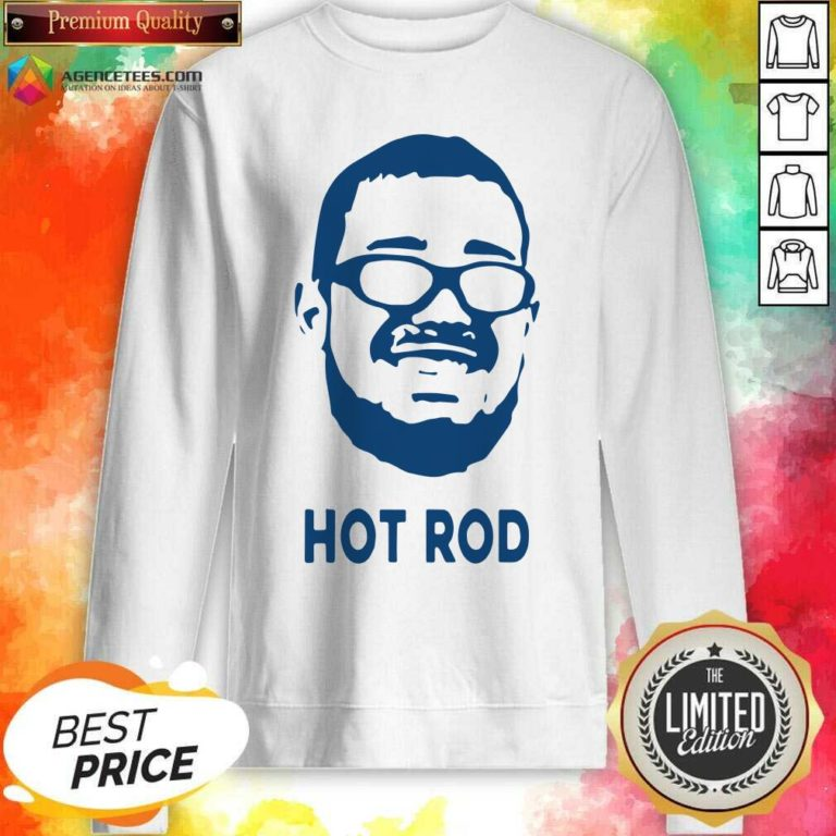 Awesome Rodrigo Blankenship Hot Rod Sweatshirt - Design By Agencetees.com
