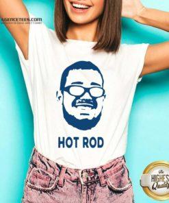 Awesome Rodrigo Blankenship Hot Rod V-neck - Design By Agencetees.com