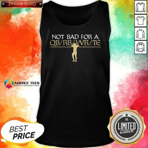Funny Flex QB New Orleans Football Tank Top - Design By Agencetees.com