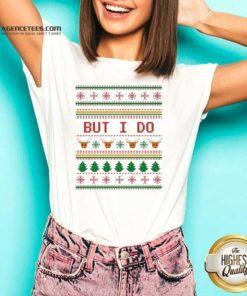 Funny But I Do Ugly Christmas V-neck - Design By Agencetees.com