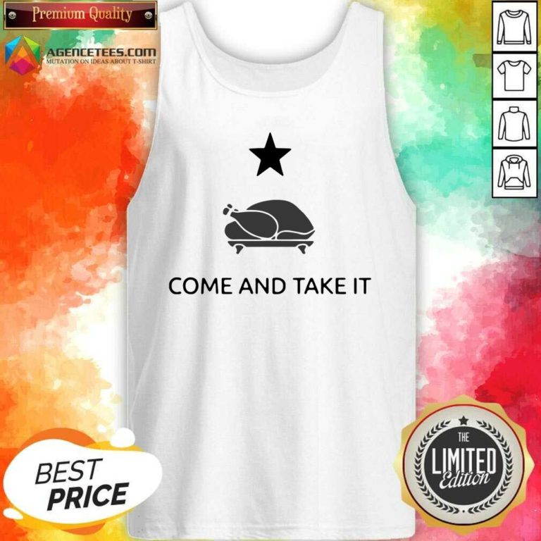 Nice Chicken Gonzales Texas Come And Take It Tank Top - Design By Agencetees.com