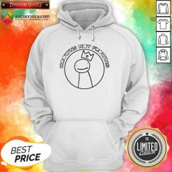 Official Wear Crowns Not Frowns Hoodie - Design By Agencetees.com