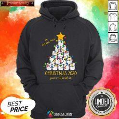 Premium 2020 Quarantine Christmas Toilet Paper Tree Sweatshirt - Design By Agencetees.com