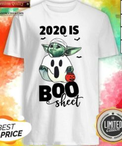 Premium Baby Yoda Ghost 2020 Is Boo Sheet Shirt - Design By Agencetees.com