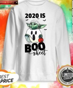 Premium Baby Yoda Ghost 2020 Is Boo Sheet Sweatshirt - Design By Agencetees.com