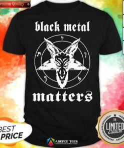 Premium Black Metal Matters Fox Star Shirt - Design By Agencetees.com
