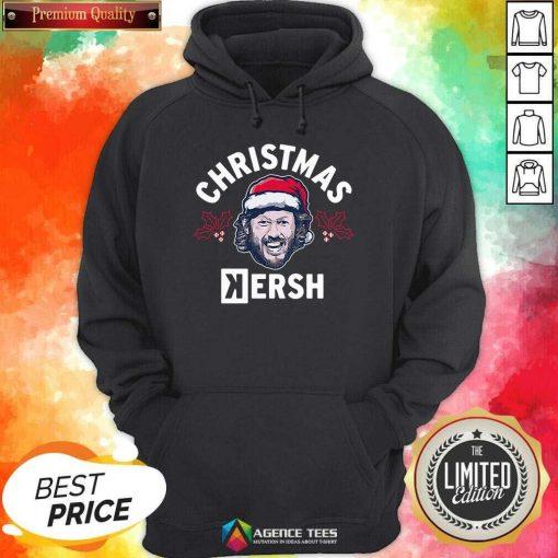 Premium Christmas Kersh Los Angeles Hoodie - Design By Agencetees.com