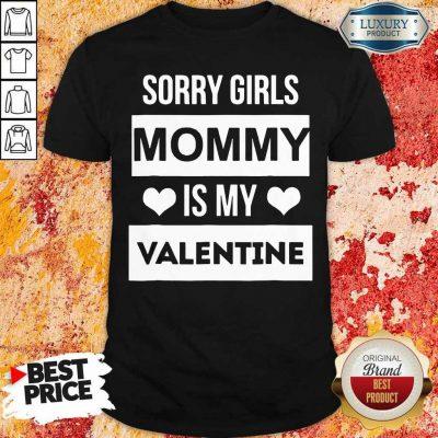 Amused Girls Mommy My Valentine 1 Shirt