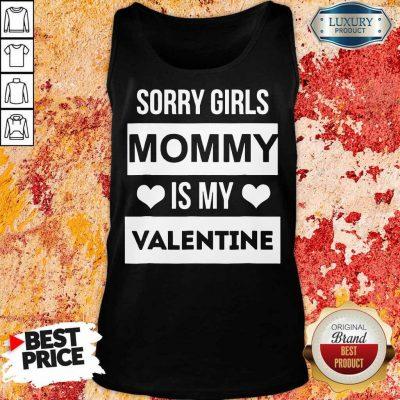 Amused Girls Mommy My Valentine 1 Tank Top