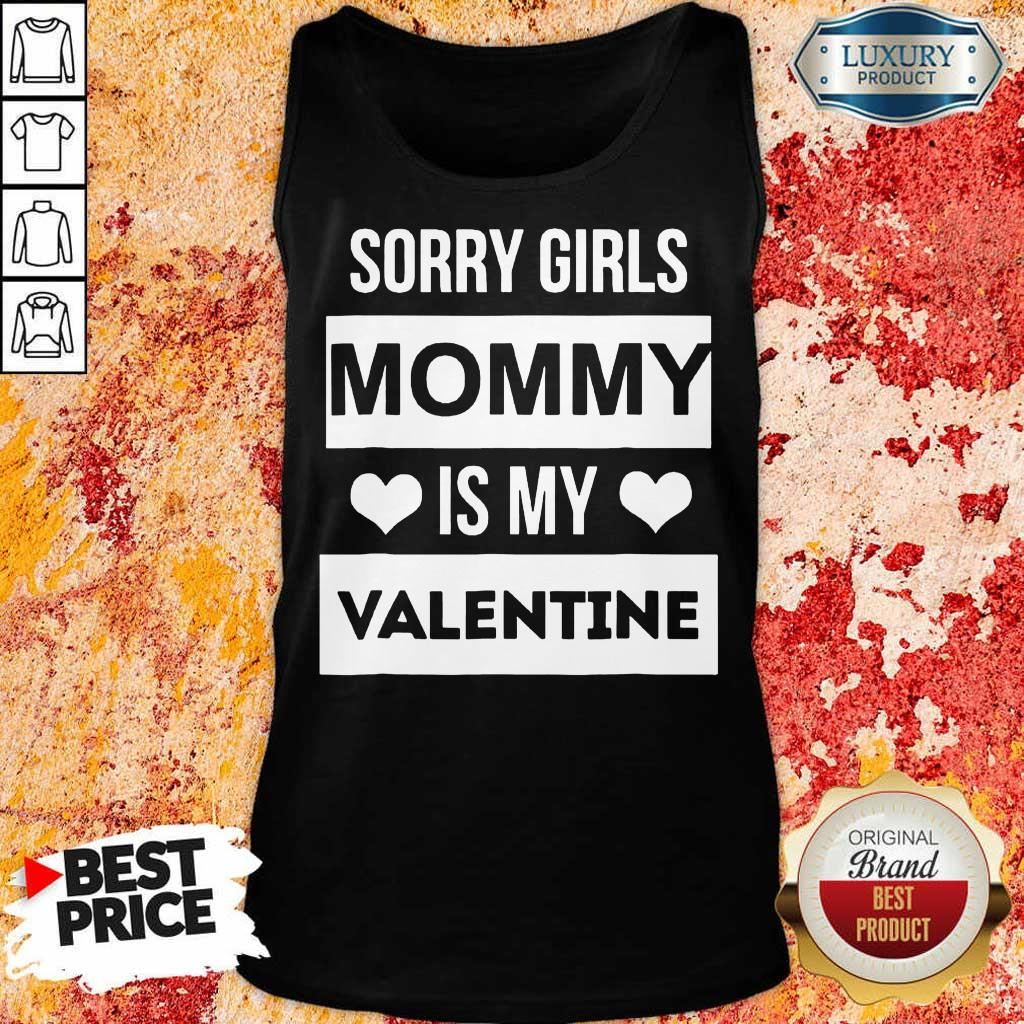 Amused Girls Mommy My Valentine 1 Tank Top