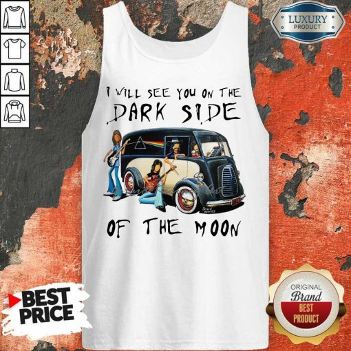 Angry The Dark Side Of The Moon 2 Tank Top