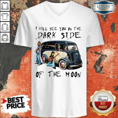 Angry The Dark Side Of The Moon 2 V-neck